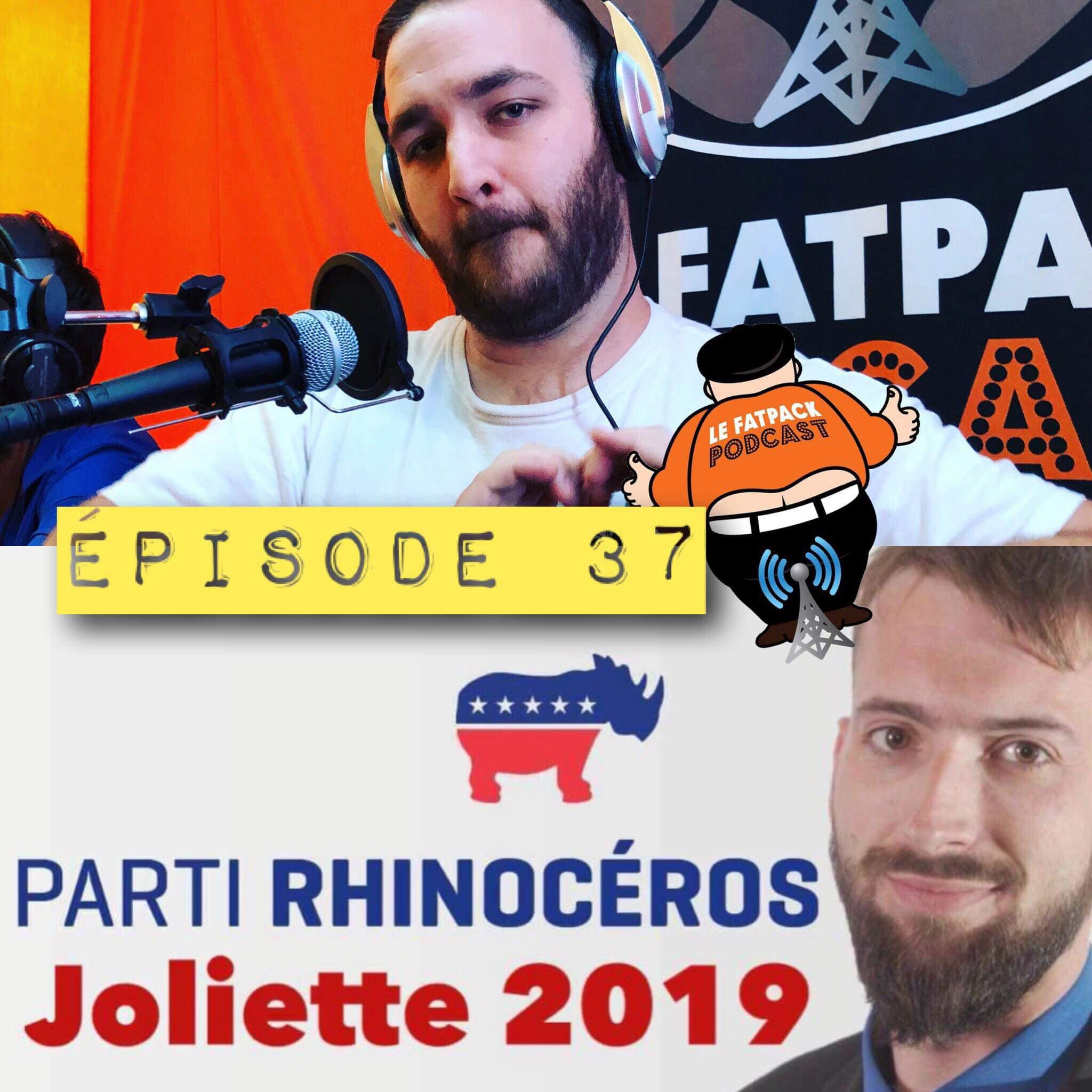FatPack #37 – Rhino Jacques du Parti Rhinocéros